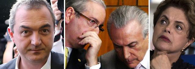 PRISÃO DE JOESLEY COMEÇA A DESVENDAR ESQUEMA DO MDB PARA O GOLPE CONTRA DILMA