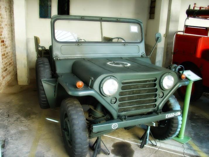Jeep M 151: Transporte de Pessoal e Carga, no Museu do Comando Militar do Sul, em Porto Alegre