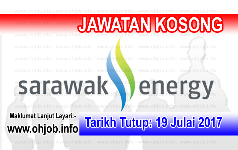 Jawatan Kerja Kosong Sarawak Energy logo www.ohjob.info julai 2017