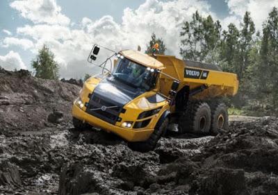 Volvo CE anuncia crescimento global das vendas em 24% no terceiro trimestre