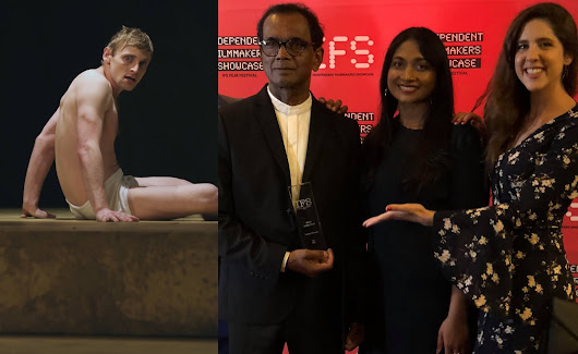 Linton Semage wins best director award at IFS Film Festival 2018