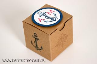 stampin up einladung hochzeit maritim the open sea Geschenk Gäte
