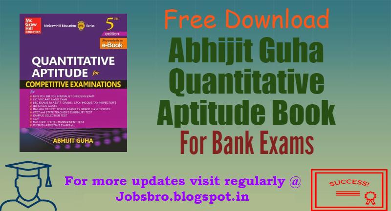 Pdf aptitude abhijit quantitative guha