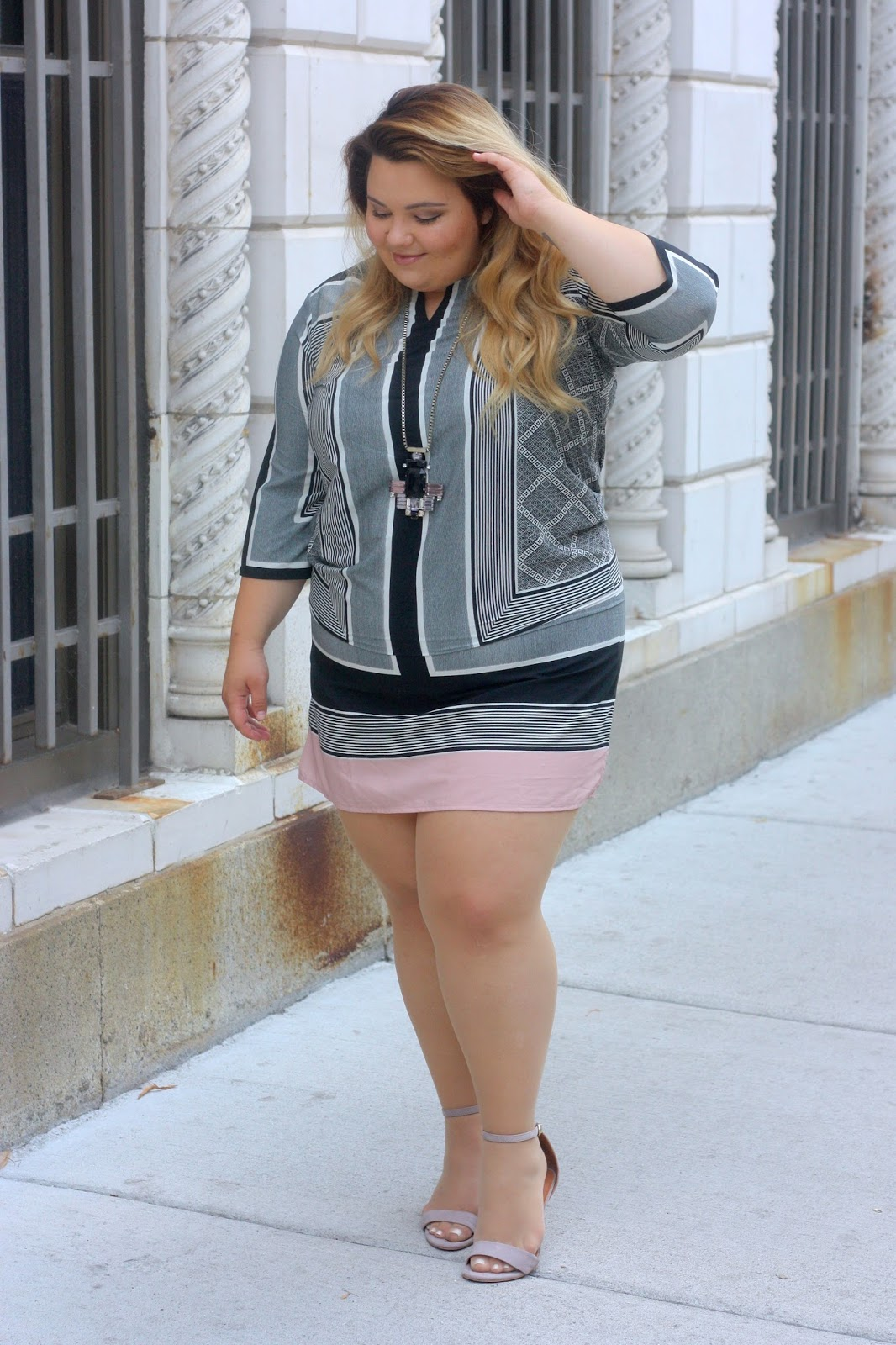 plus size shifit dress, love lianca, natalie craig, natalie in the city, chicago, plus size fashion blogger, chicago fashion blogger, fatshion, OOTD, Windy city bloggers, chicago blogger network