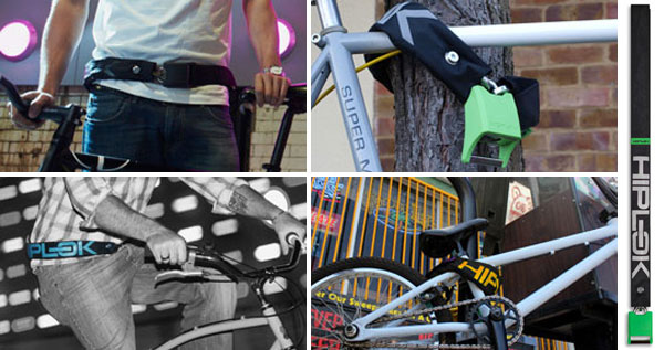 Hiplok - wearable bike lock