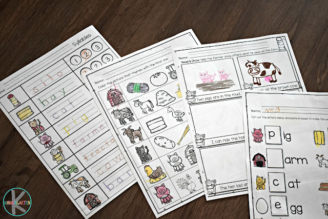 farm-unit-printables-syllables-rhymes-read-draw-beginning-sounds