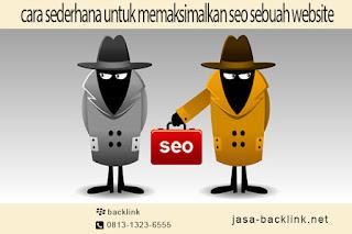 Memaksimalkan SEO Sebuah Website