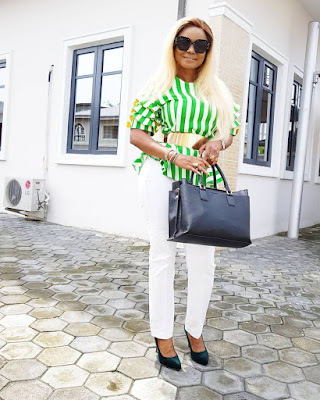 Iyabo Ojo fashion and style looks