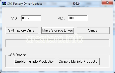 SMI Factory Driver Update