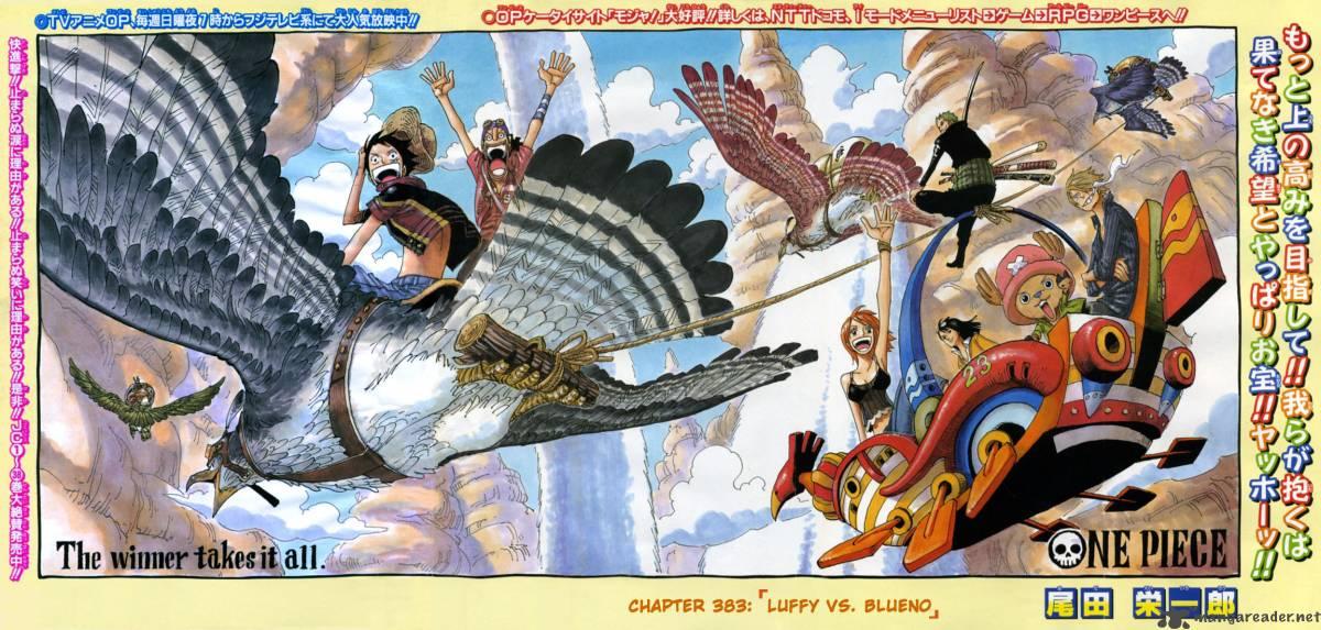 One Piece Ch 383