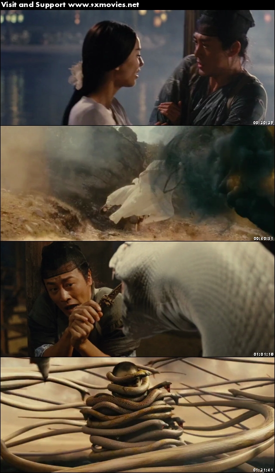 The Sorcerer And The White Snake 2011 Dual Audio Hindi 480p BluRay