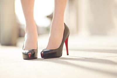 Zapatos de gala de moda