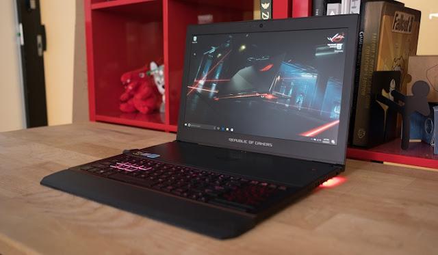Laptop Gaming Terbaik - Asus ROG Zephyrus GX501