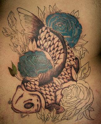 tattoos-pisces: koi fish tattoos