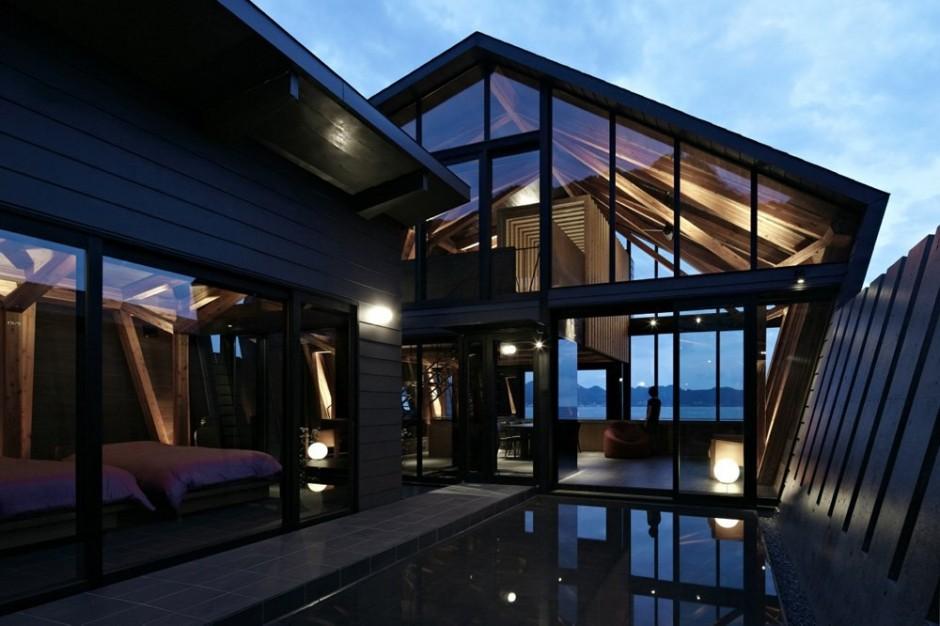 Uma moderna casa japonesa design innova for Casa moderna japonesa