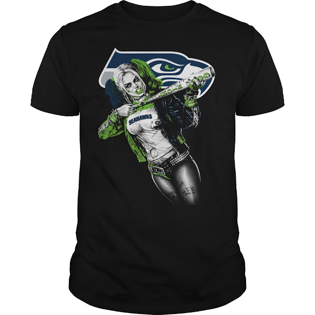 Seattle Seahawks Harley Quinn Shirt