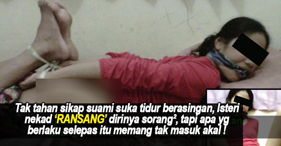 Tak Tahan Suami Suka Tidur Berasingan, Isteri Nekad PUASKAN Nafu Sorang², Tapi Apa Yg Berlaku Selepas Tu Buat Dia Menyesal !