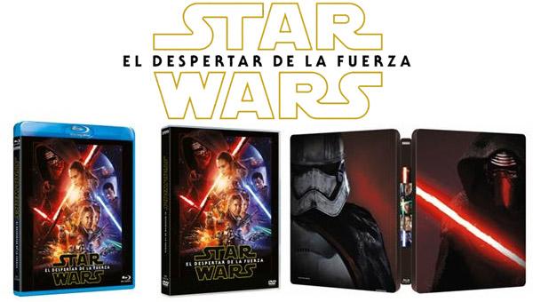 """Ediciones fisicas de """"Star Wars: El Despertar de la Fuerza"""""""