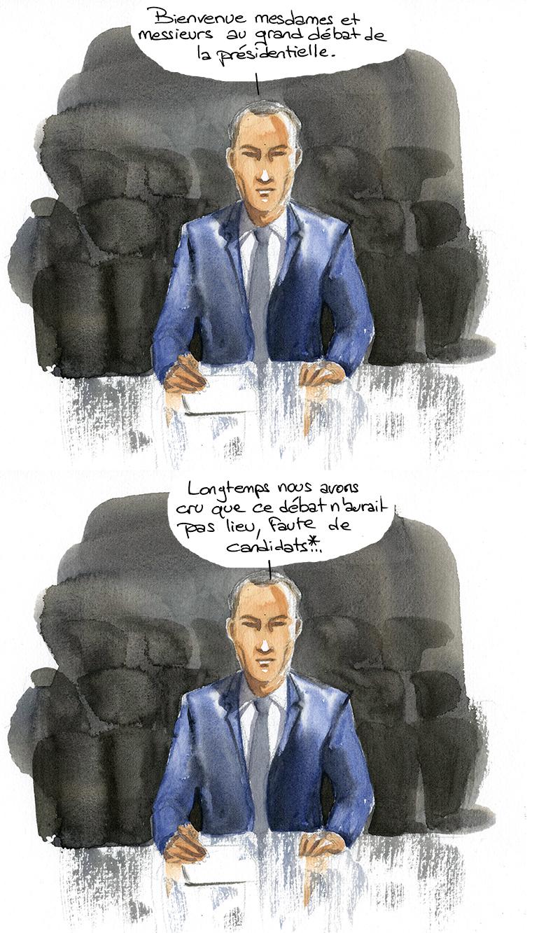grand débat de la présidentielle