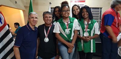 Barretos conquista medalha de prata no xadrez dos Jogos Regionais