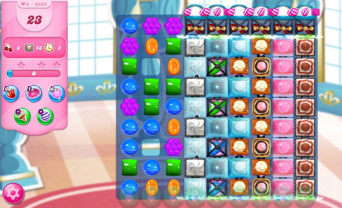 Candy Crush Saga level 6832