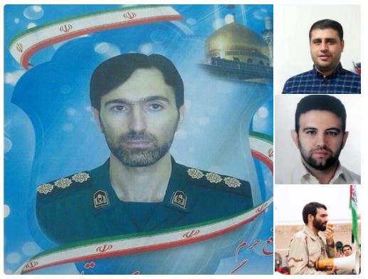 Image Source: Twitter post by FDD's Iran Project naming four Iranian killed in strikes on T-4 air base in Syria / L-R: Col. Mehdi Dehghan, Seyyed Ammar Mousavi, Akbar Javar-Jannati and Mehdi Lotfi-Niasar / Source: FDD's Iran Project's Twitter handle