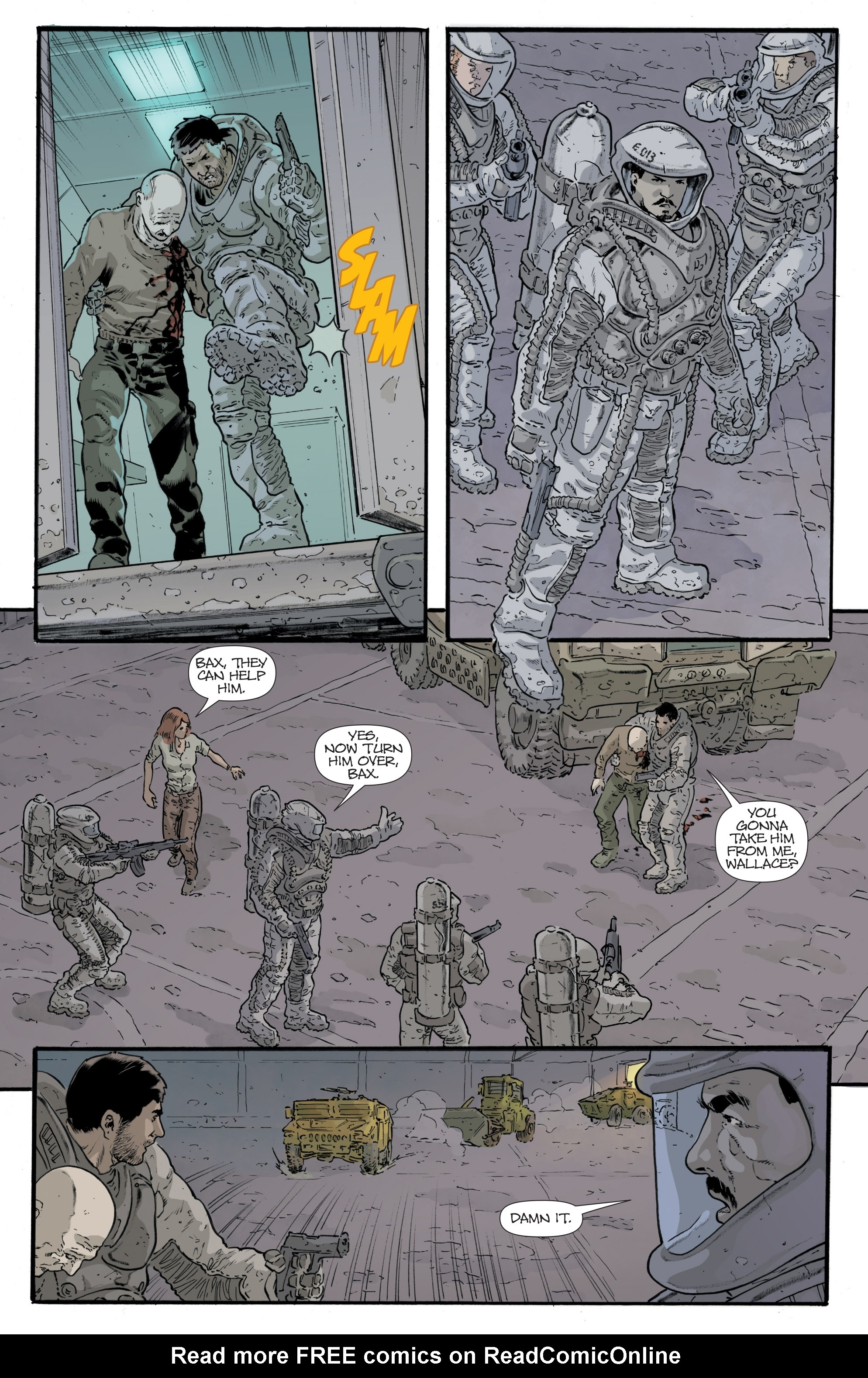 Read online Eclipse comic -  Issue #8 - 9