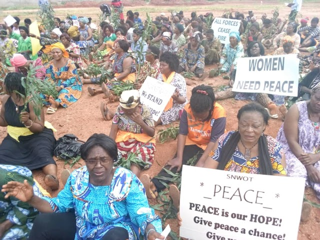 Women in Bamenda Weep for a Return to Normalcy in Anglophone Cameroon