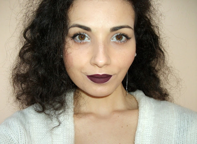 Valentina Chirico's dark lips look with Djulicious Cosmetics Dulcematte in Beautiful