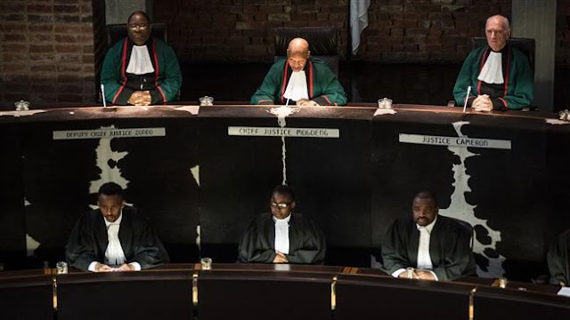 South Africa's Constitutional Court faults parliament over Jacob Zuma case