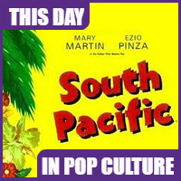 """South Pacific"" premiered on Broadway on April 8, 1949."