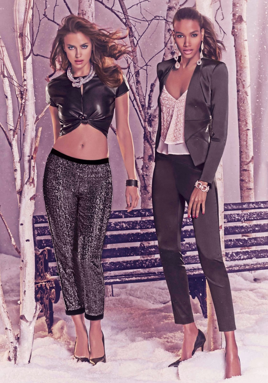 Concierge4fashion The Most Beautiful Girl In The World: Concierge4Fashion: Irina Shayk Featuring For Bebe Holiday