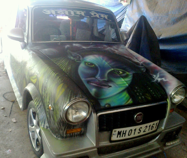 Varada Art Car Airbrush Graphic