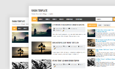 Ramai Template - Gratis Free Download