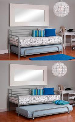 Model Kamar Tidur Multifungsi Untuk Menghemat Ruang