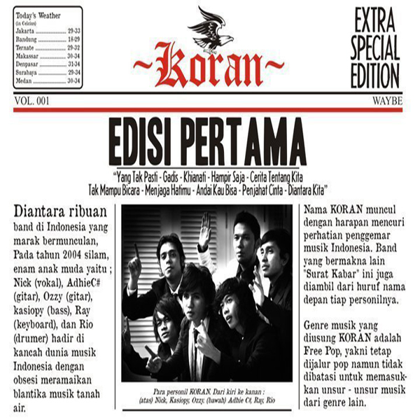 Download Lagu Koran Band Terbaru