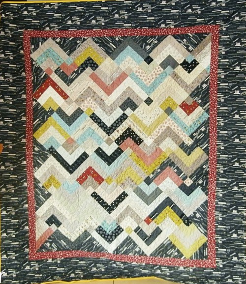 You Zig I'll Zag Quilt - Tutorial