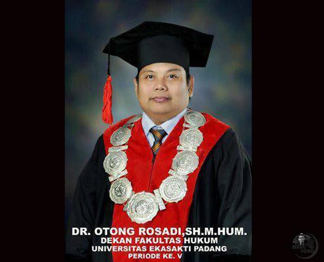 DR. OTONG ROSADI,SH.M.HUM.