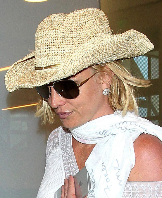 Britney Spears has ne'er appeared happier!