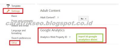 pengertian google analytics, cara daftar dan memasang id pelacakan