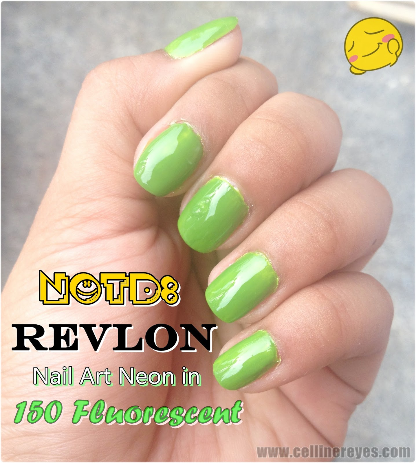Review: Revlon Nail Art Neon in 150 Fluorescent + NOTD ...