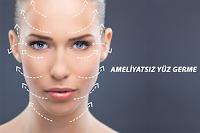 En Çok Kullanılan Ameliyatsız Yüz Germe Yöntemleri Ultraskin, Fraksiyonel ve Altın İplik Hakkında Bilgilendirme.