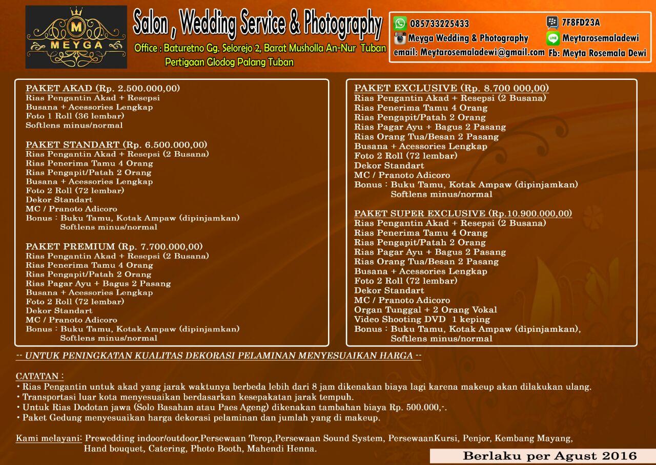 Queennaa s zone persiapan pernikahan dan info pricelist mua ig meygaweddingphotography junglespirit Choice Image
