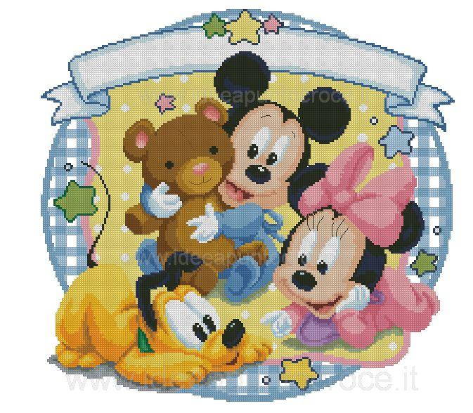 Disegni Punto Croce Disney