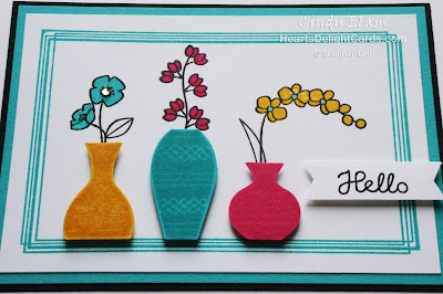 Heart's Delight Cards, Varied Vases, MIFDC6, Stampin' Up!