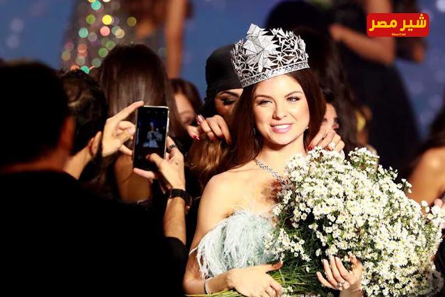 بالصور   تعرف على مايا رعيدي ملكة جمال لبنان لعام 2018