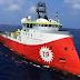 """Η Τουρκία στέλνει τo πλοίο «Barbaros» για έρευνες στην Ελληνική υφαλοκρηπίδα – Απέπλευσε και ο """"Πορθητής""""!"""