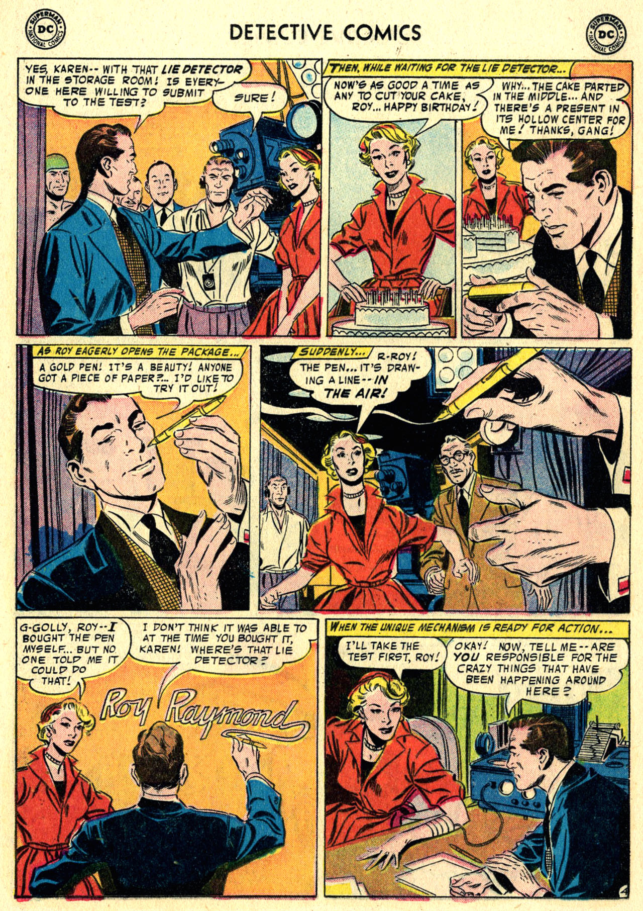 Read online Detective Comics (1937) comic -  Issue #244 - 21