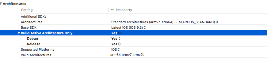 xcode file was built for archive which is not the architecture