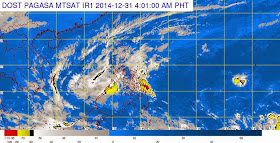 'Bagyong Seniang' PAGASA Weather Update (December 31, 2014)